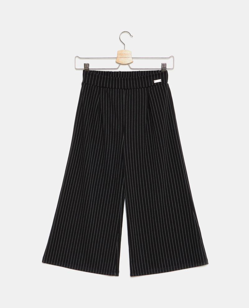 Pantaloni ampi a righe ragazza