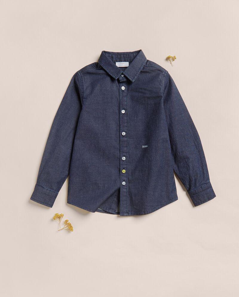 Camicia in chambray di cotone IANAdouble bordered 0