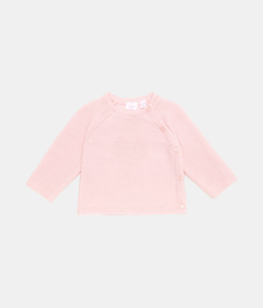 Maglioncino in puro cotone neonata