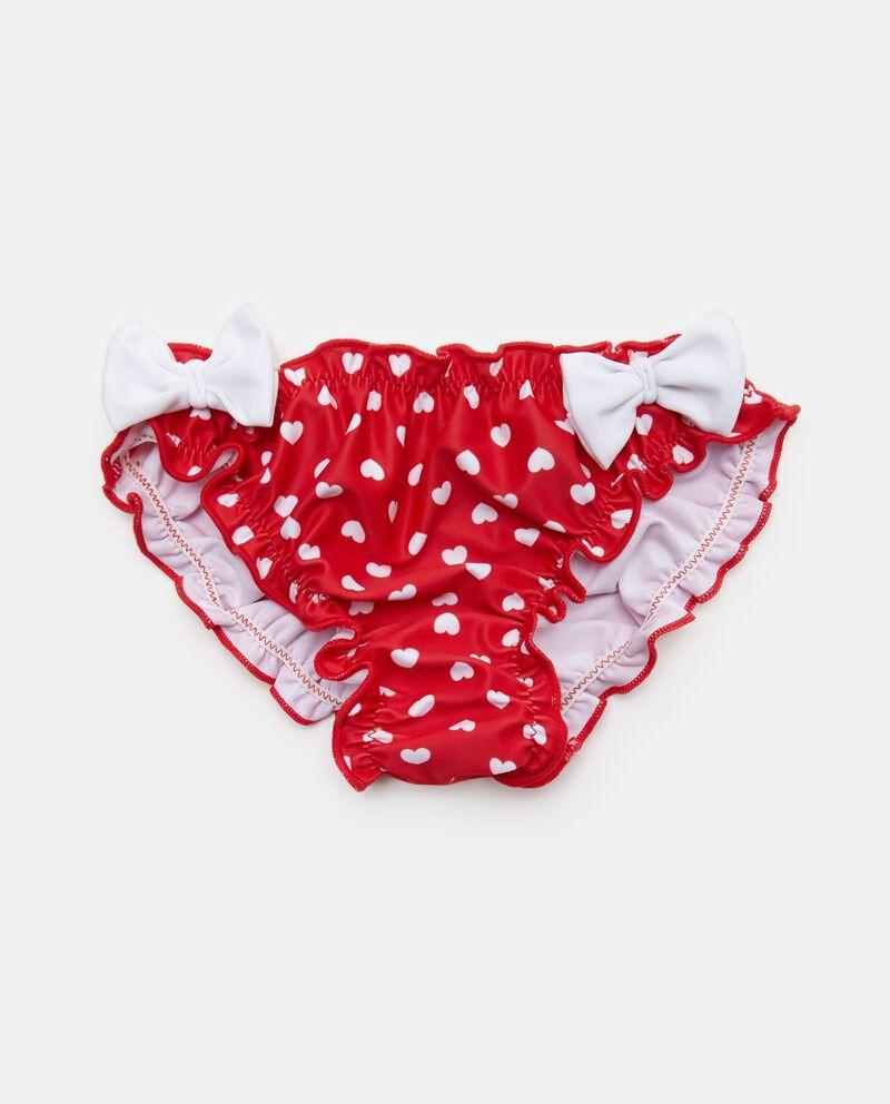 Slip costume con micro cuori neonata
