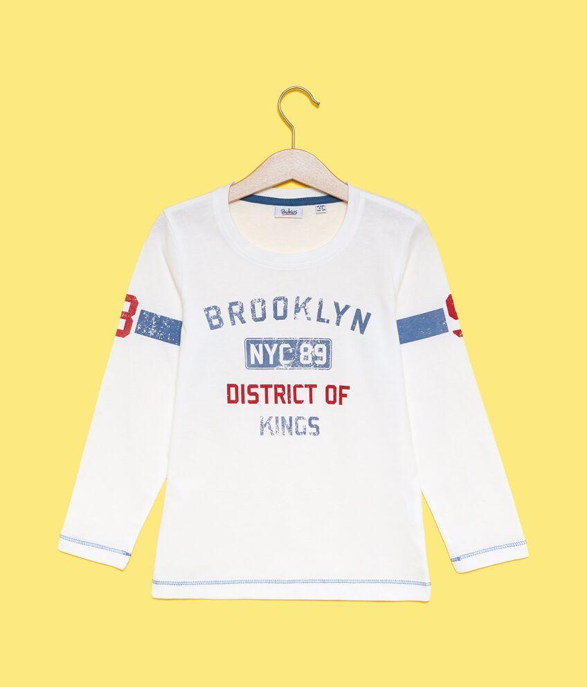 Maglietta lettering bambino