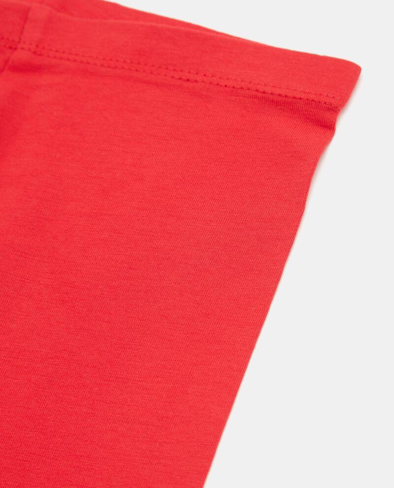 Leggings con fascia elastica