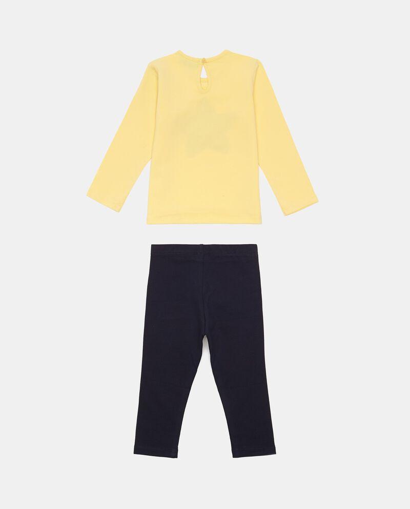 Set t-shirt e pantaloni cotone stretch