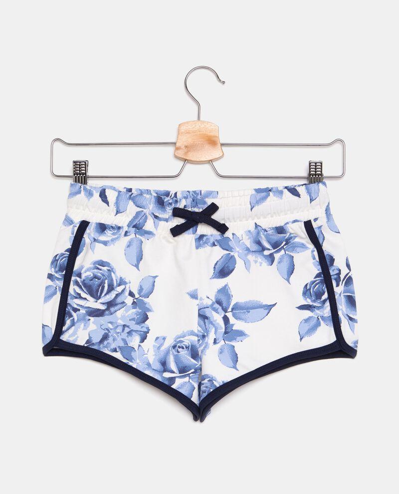 Shorts fantasia floreale