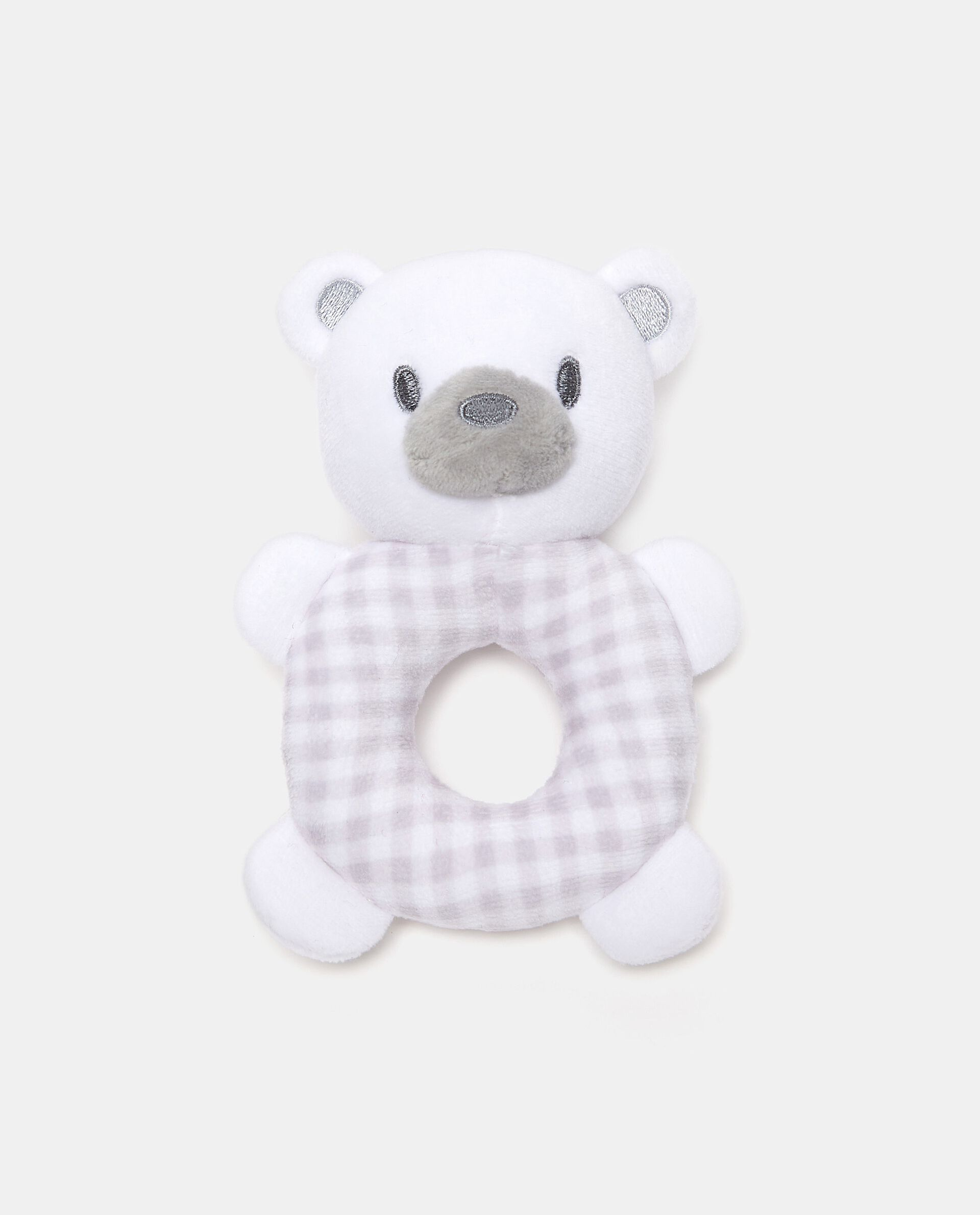 Doudou orsetto ad anello in peluche