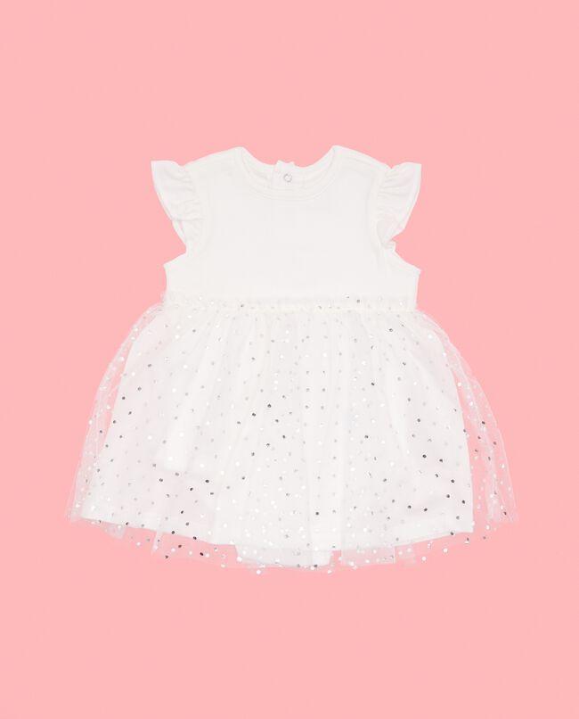 Vestito con tulle neonata