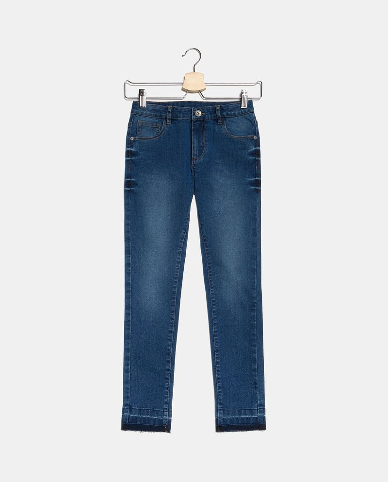 Jeans effetto vintage ragazza cover
