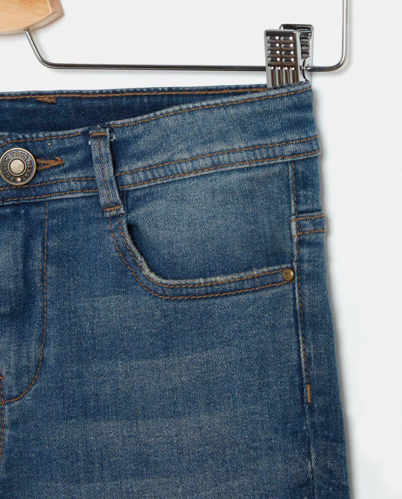 Jeans con paillettes ragazza