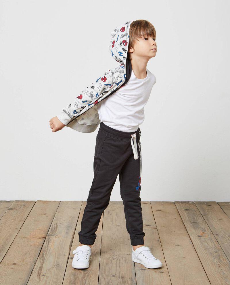 Pantaloni tuta due tasche Spiderman