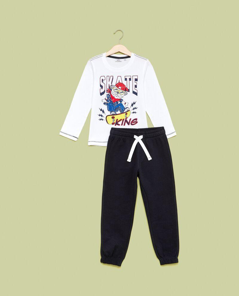 Set jogging maglia e pantalonidouble bordered 0