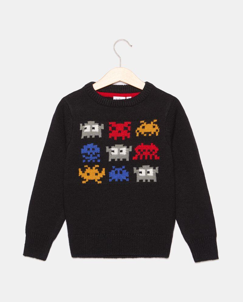 Girocollo tricot in misto lana bambino cover