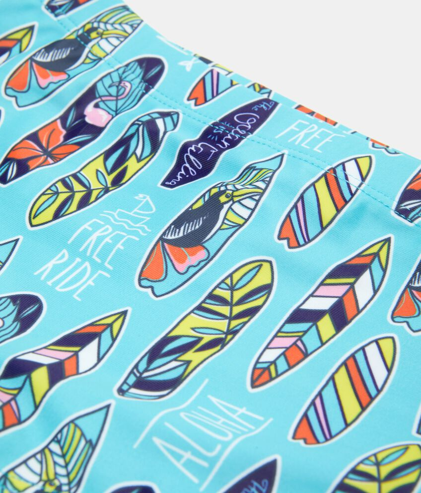 Costume boxer con fantasia tavole da surf