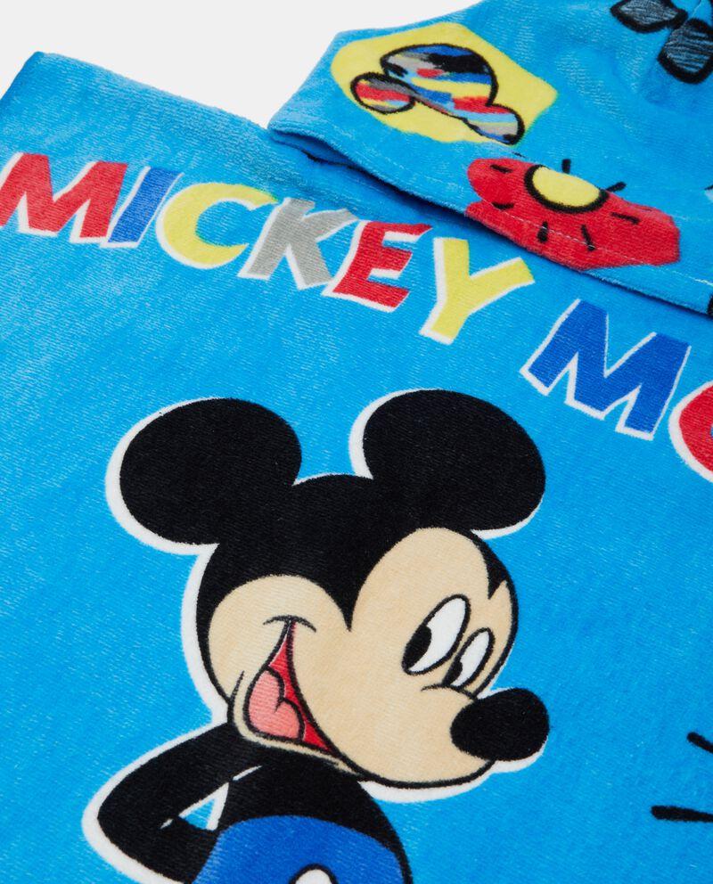 Asciugamano Mickie Mouse con capuccio neonato in puro cotone