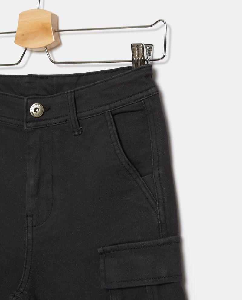 Shorts in felpa cargo ragazzo single tile 1