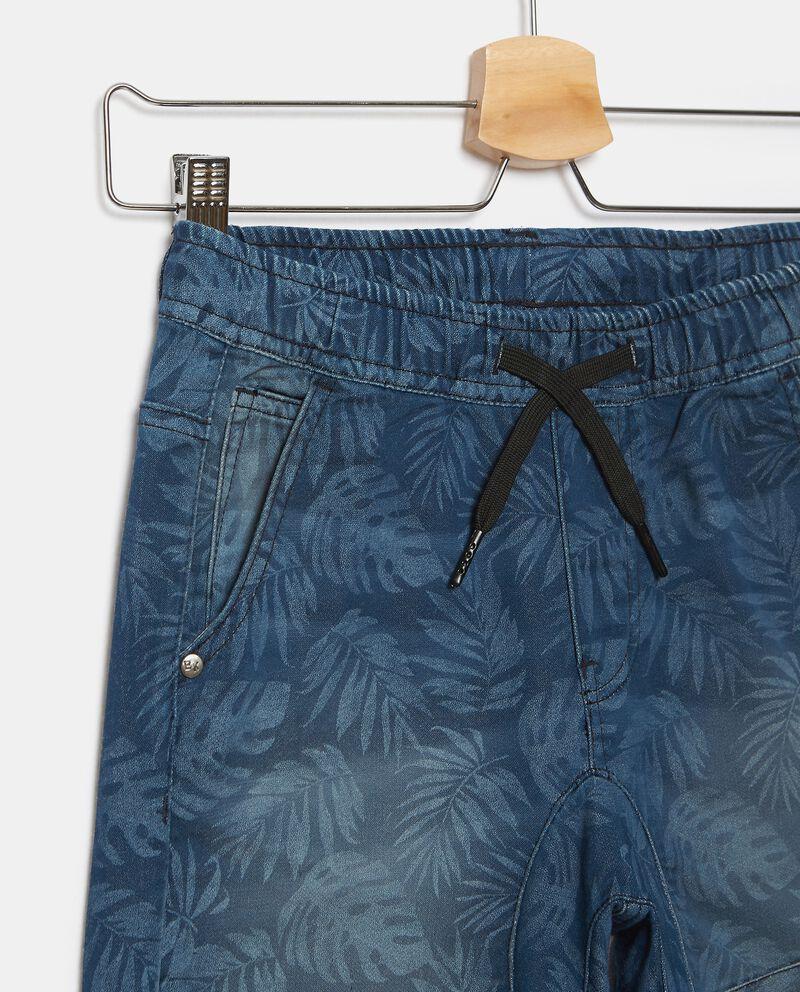 Shorts in felpa stampati ragazzo single tile 1