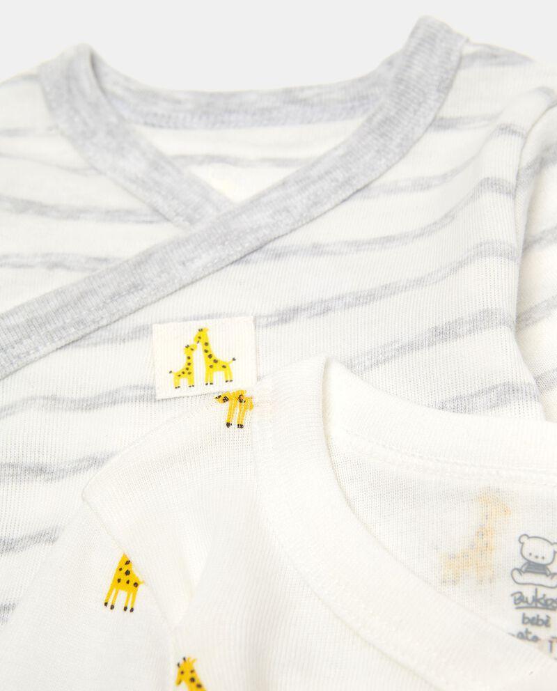 Bipack body in cotone
