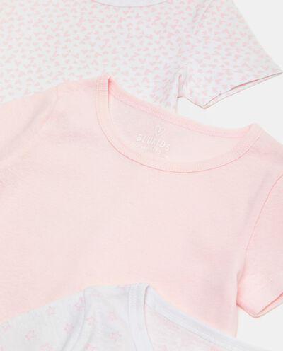 Set di 3 t-shirt intime di puro cotone biologico bambina detail 1