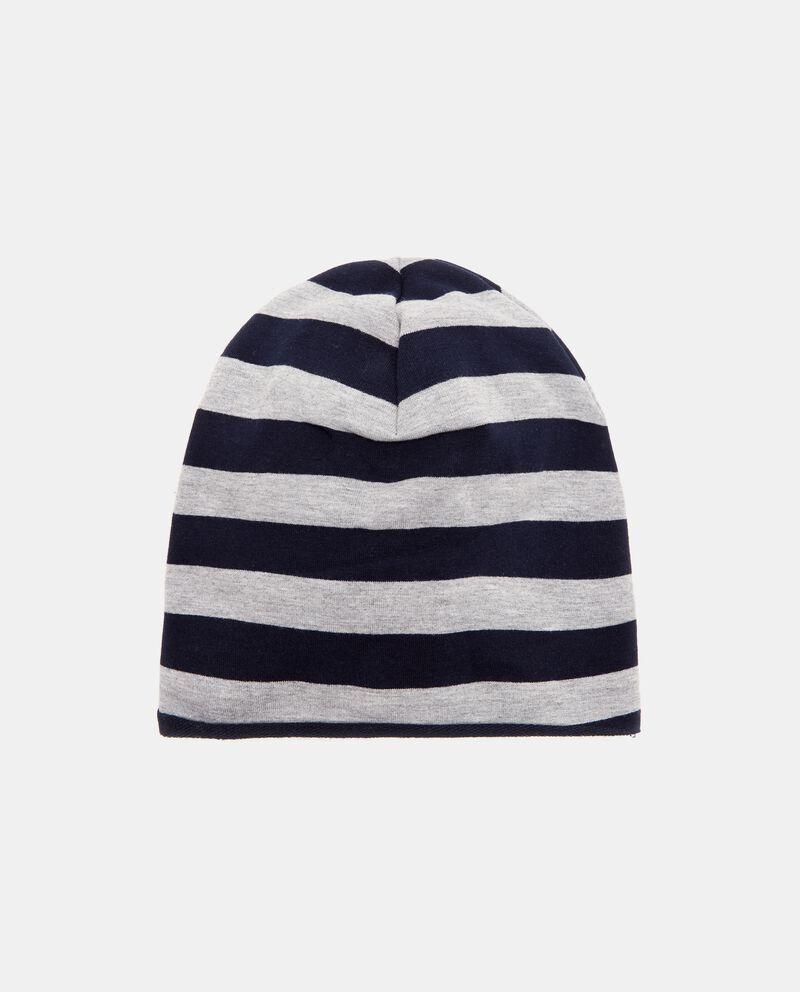 Cappello invernale con motivo a righe neonato