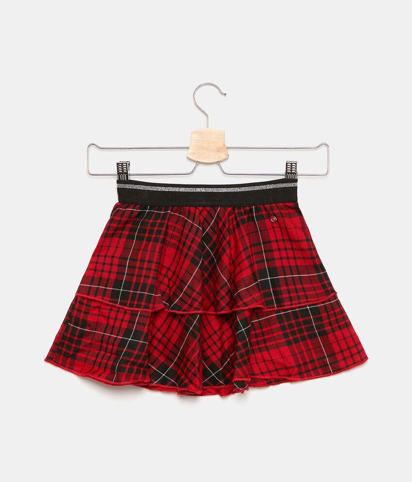 Minigonna in tartan