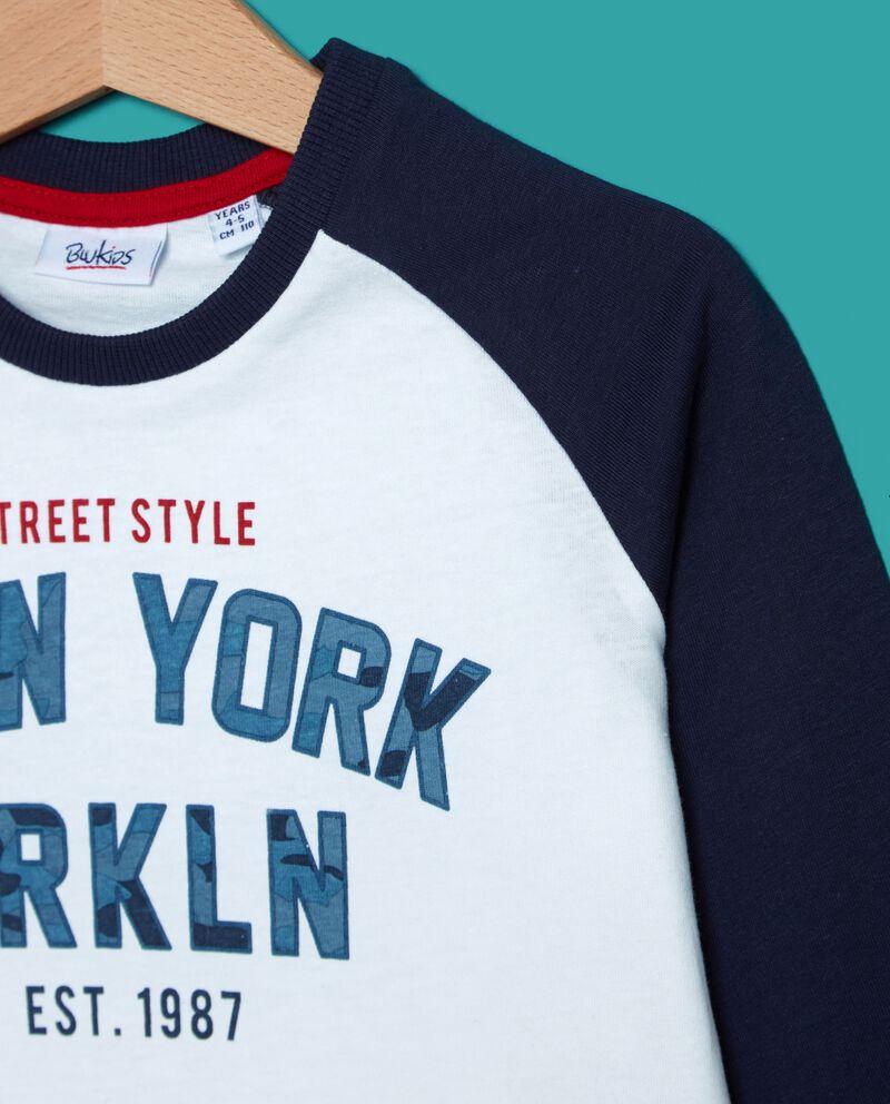 T-shirt con maniche contrasto bambino