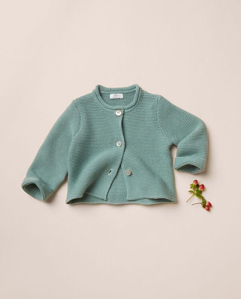 Cardigan in maglia di puro cotone cover