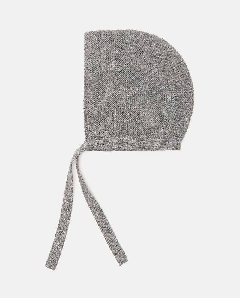 Cappellino in maglia puro cotonedouble bordered 0