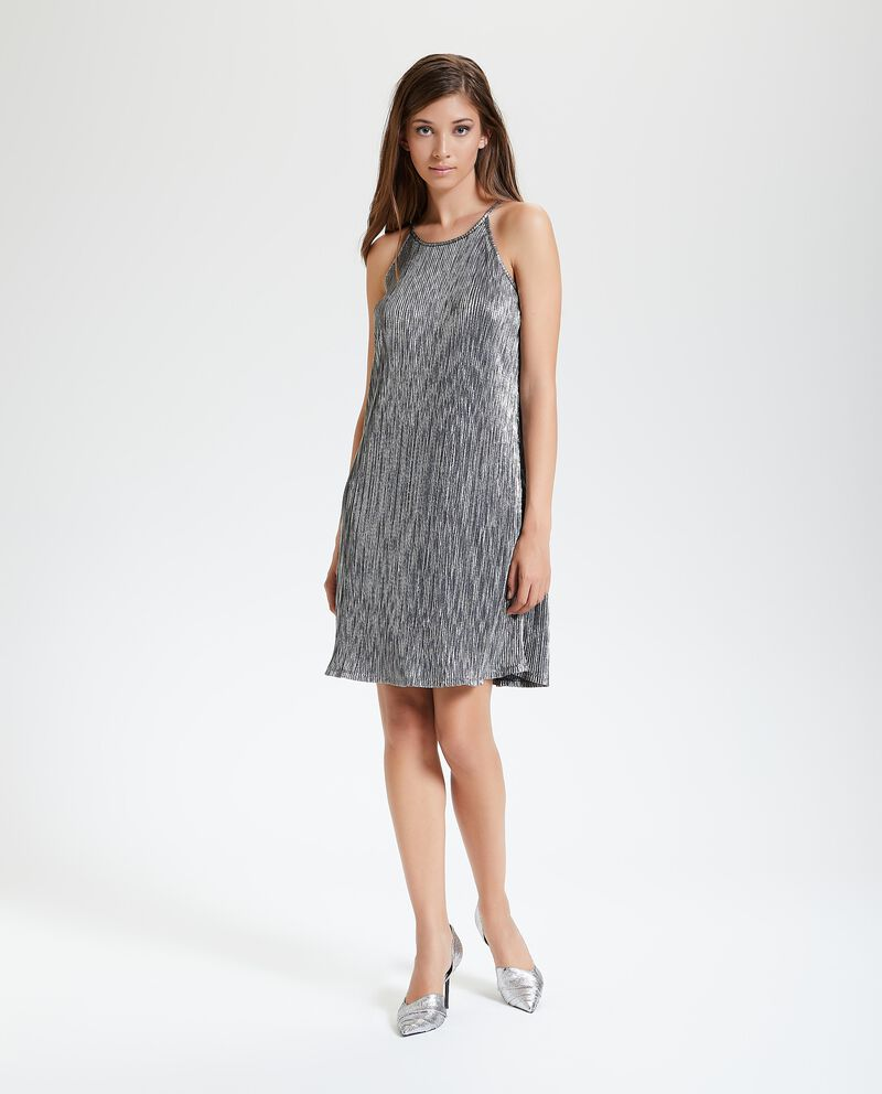 Vestito corto svasato donna