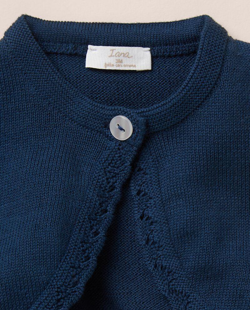 Golfino scaldacuore in maglia di puro cotone single tile 1