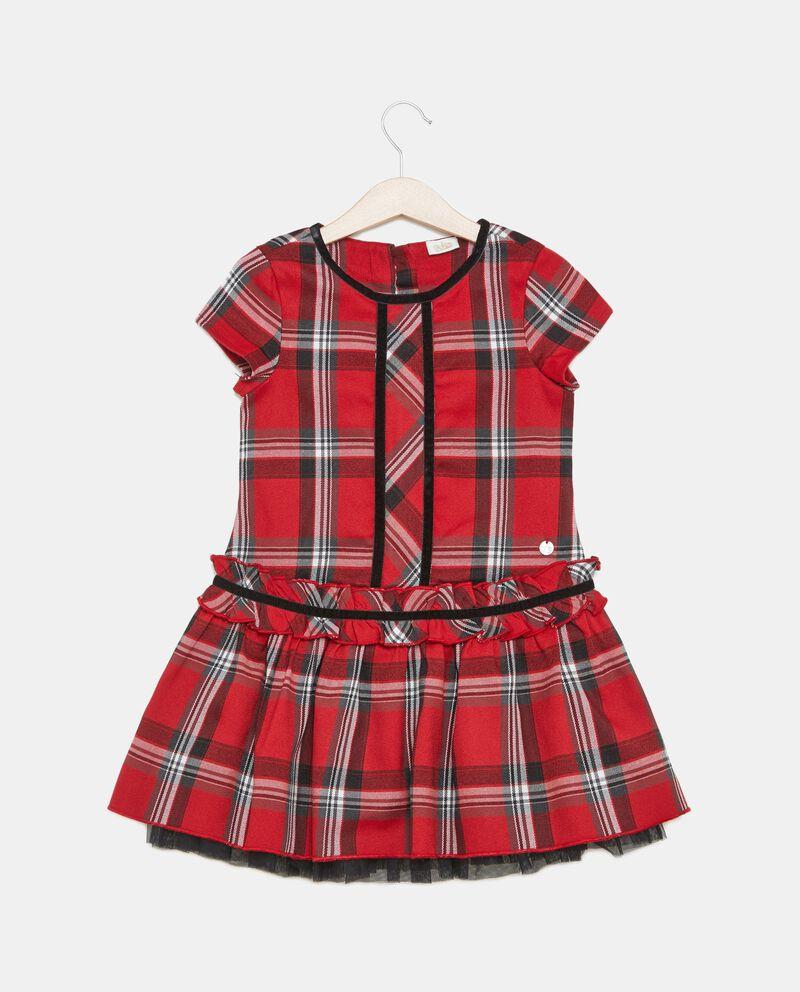 Vestito tartan bambina