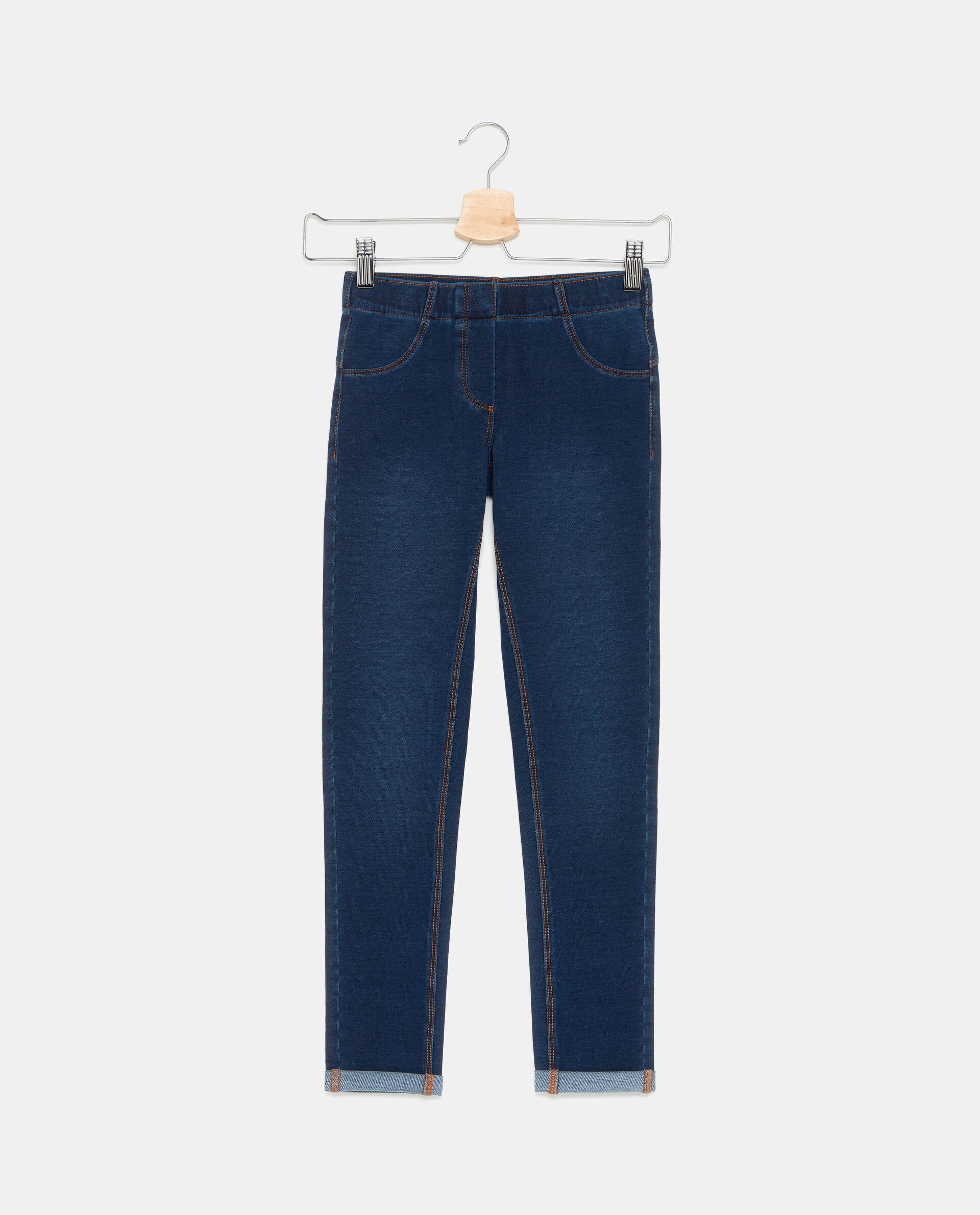 Jeans con risvoltini ragazza