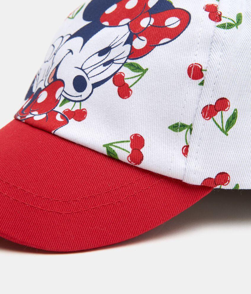 Cappellino con Minnie in puro cotone neonata