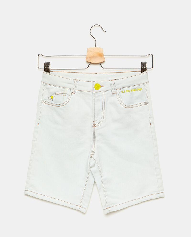 Pantaloni con dettagli a contrasto