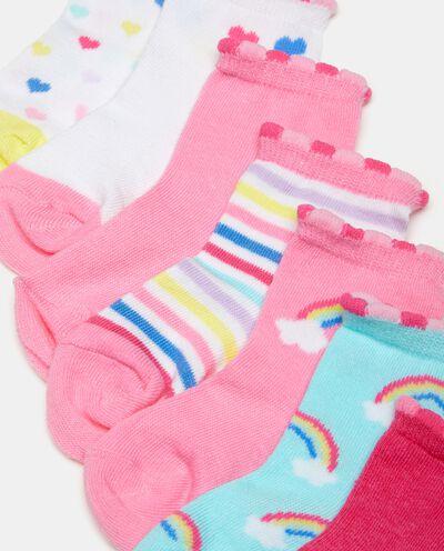 Five pack neonata calze corte