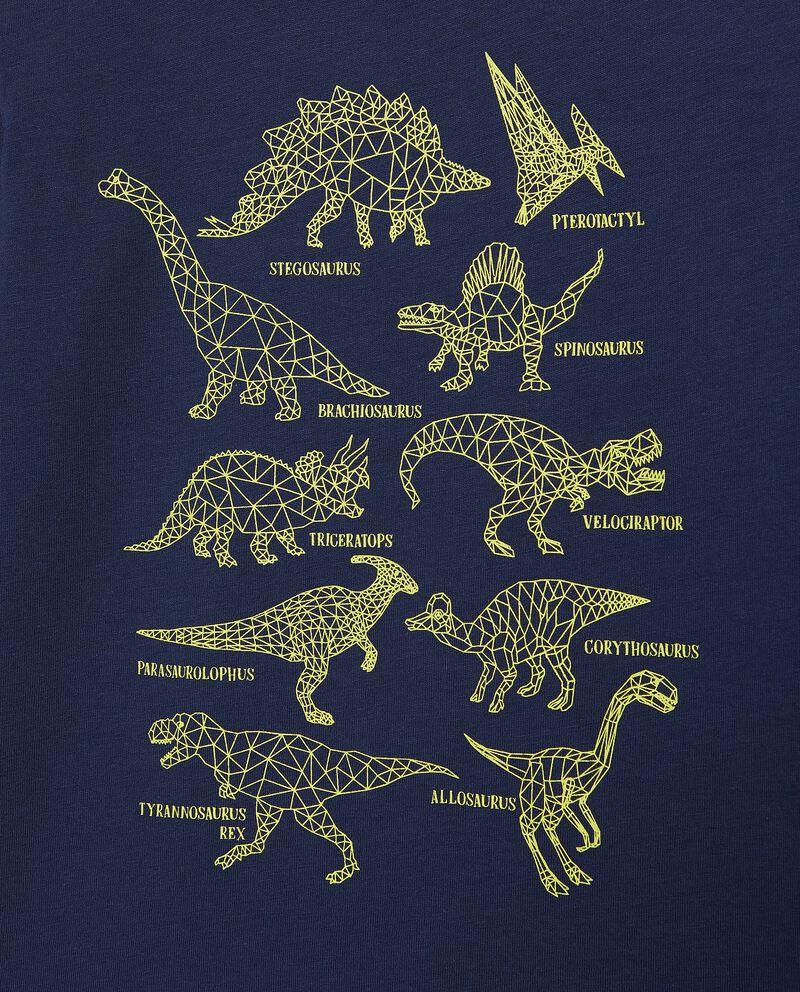 Maglia con dinosauri in puro cotone bambino