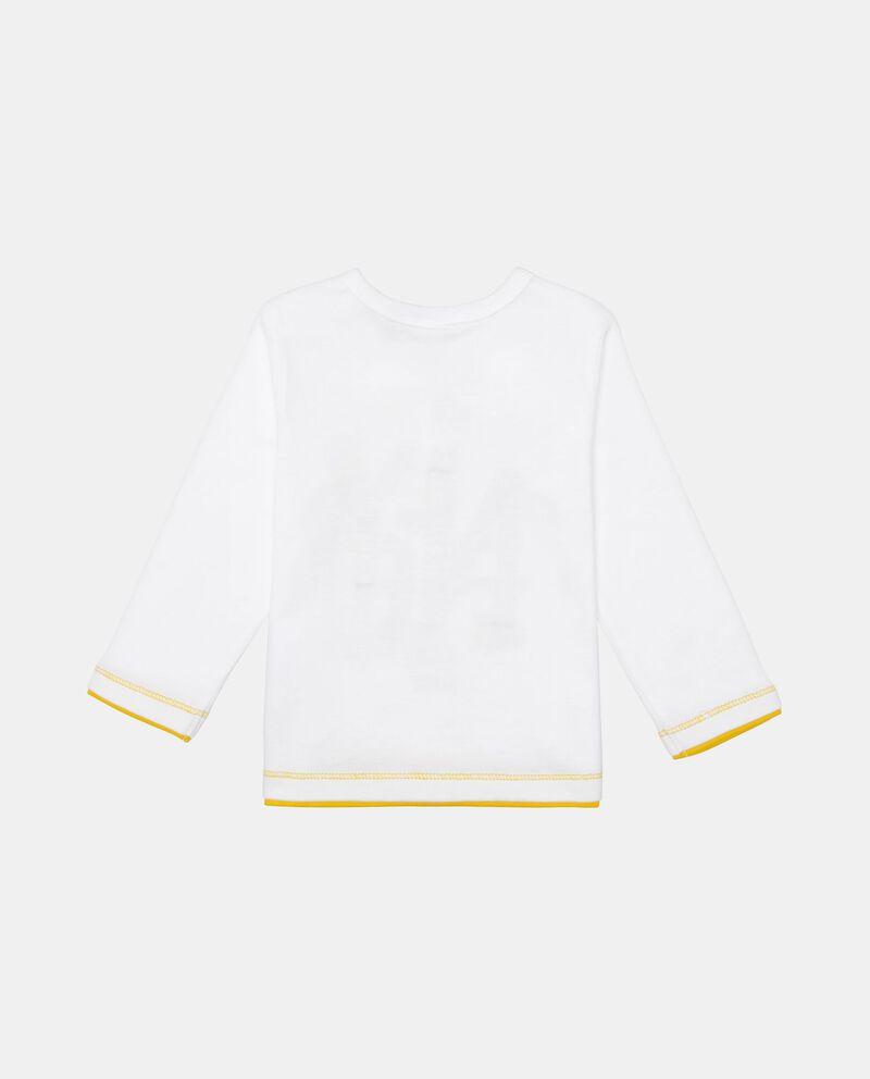 T-shirt cotone stampa e inserto
