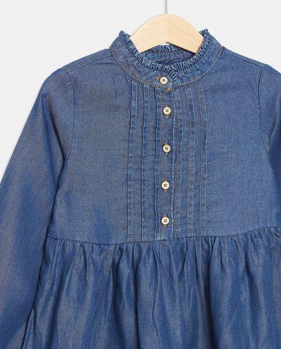 Vestito in lyocell con borchiette bambina detail 1