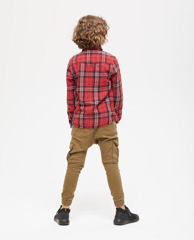 Camicia cotone a quadri