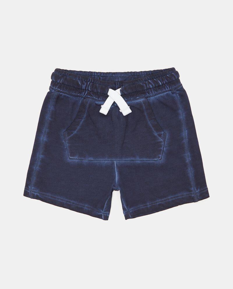 Shorts di felpa in cotone organico neonato cover