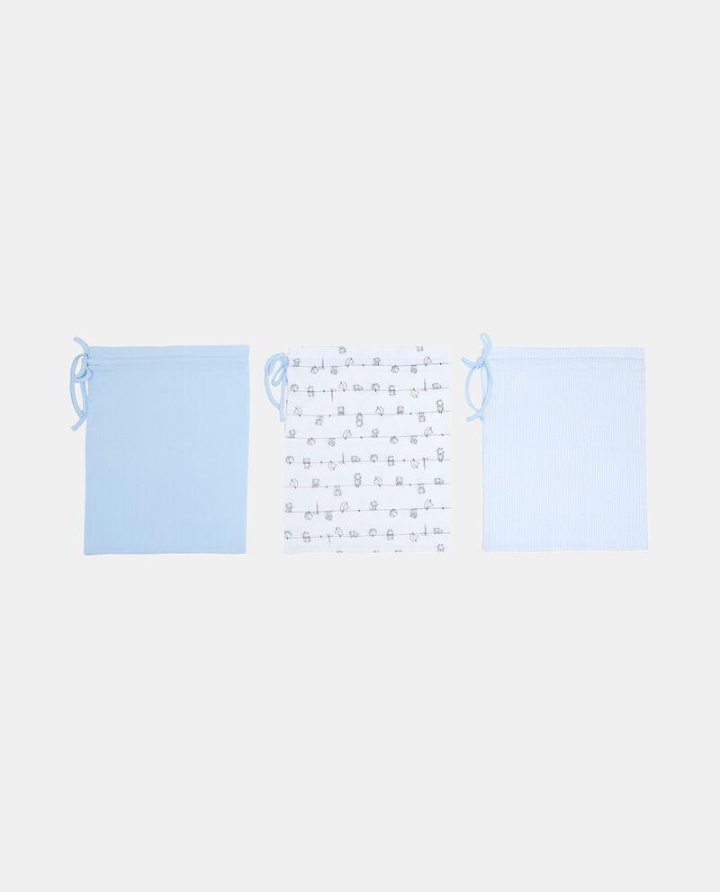Set tre sacche nanna in puro cotone