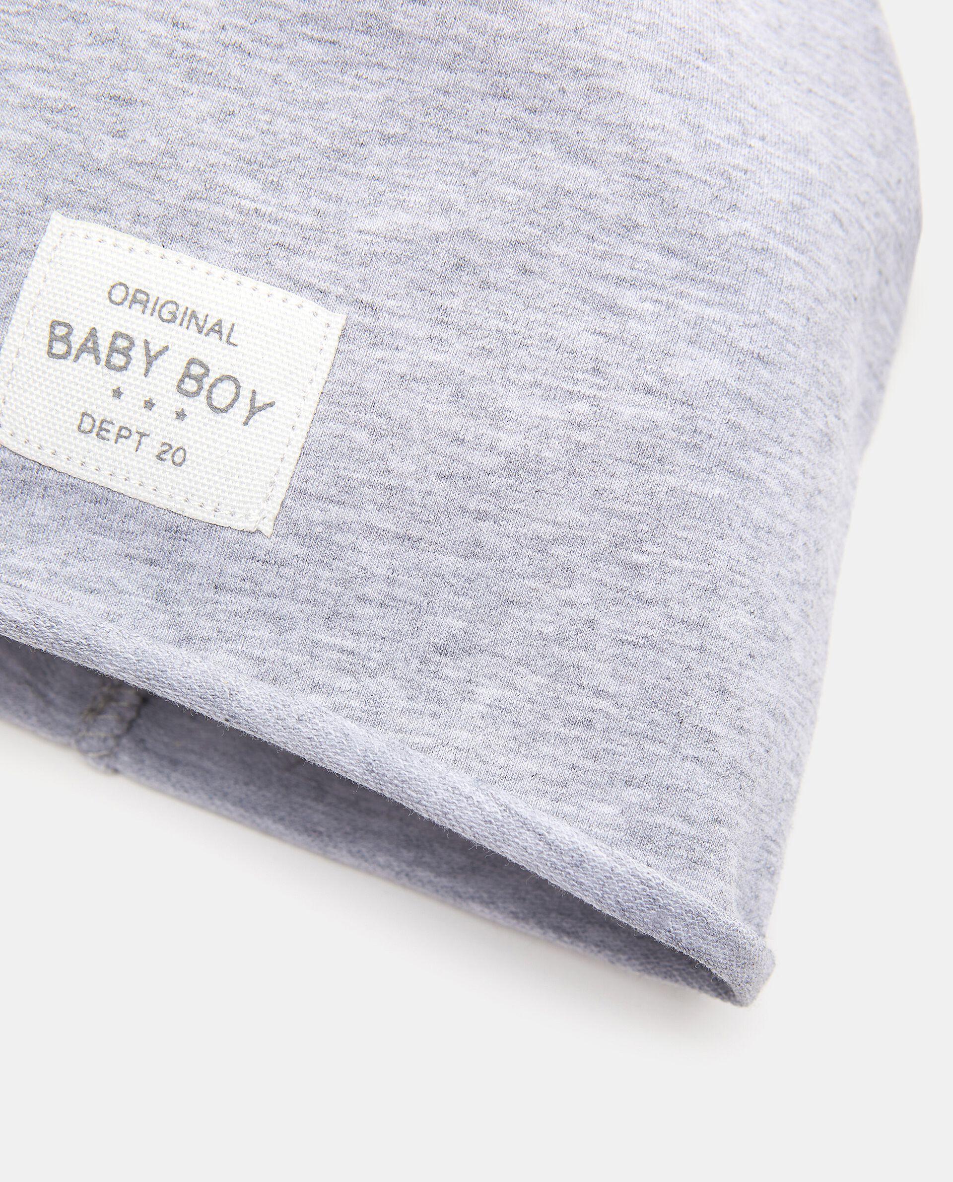 Berrettino tinta unita in cotone elasticato neonato