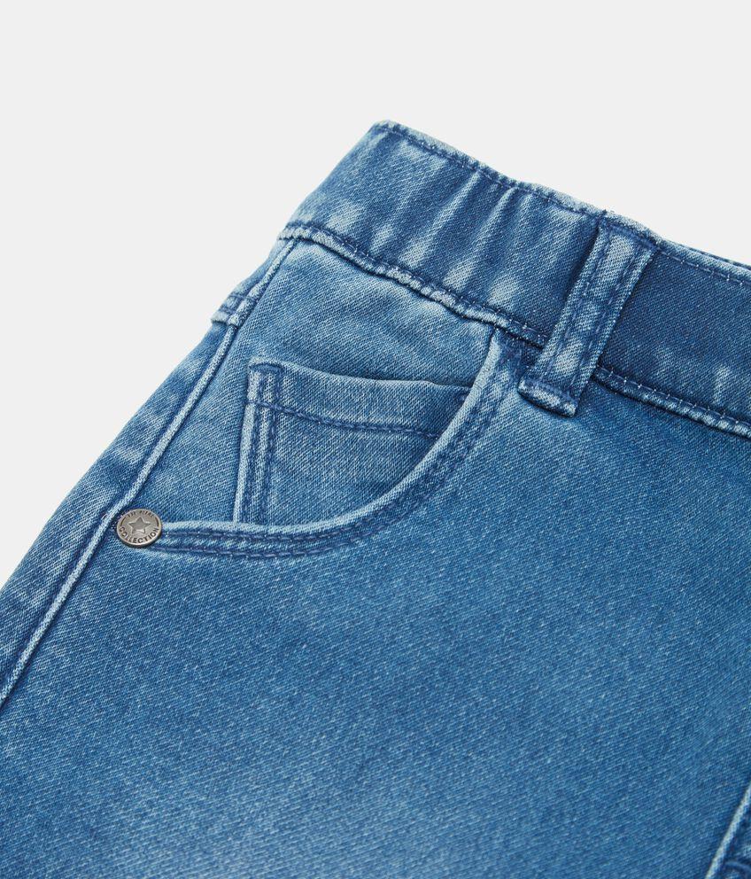 Jeans con risvoltini neonato