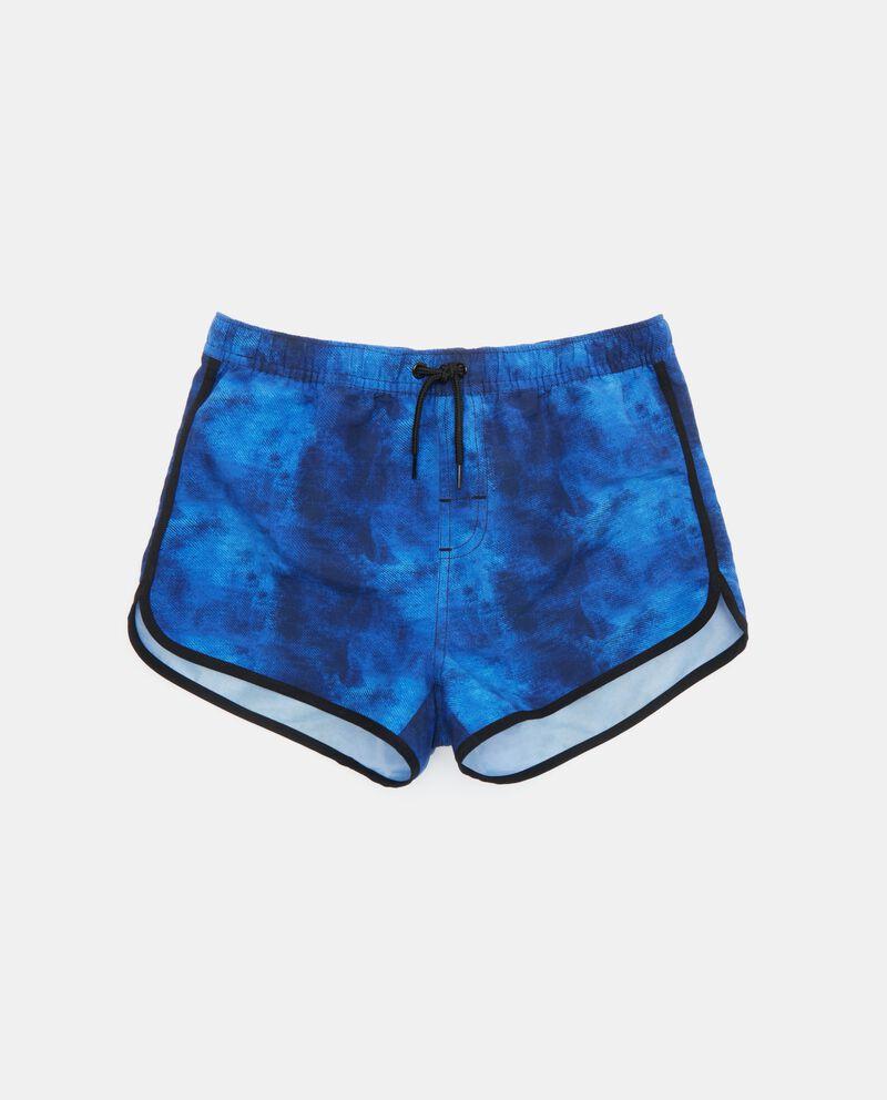 Shorts mare con effetto denim ragazzo