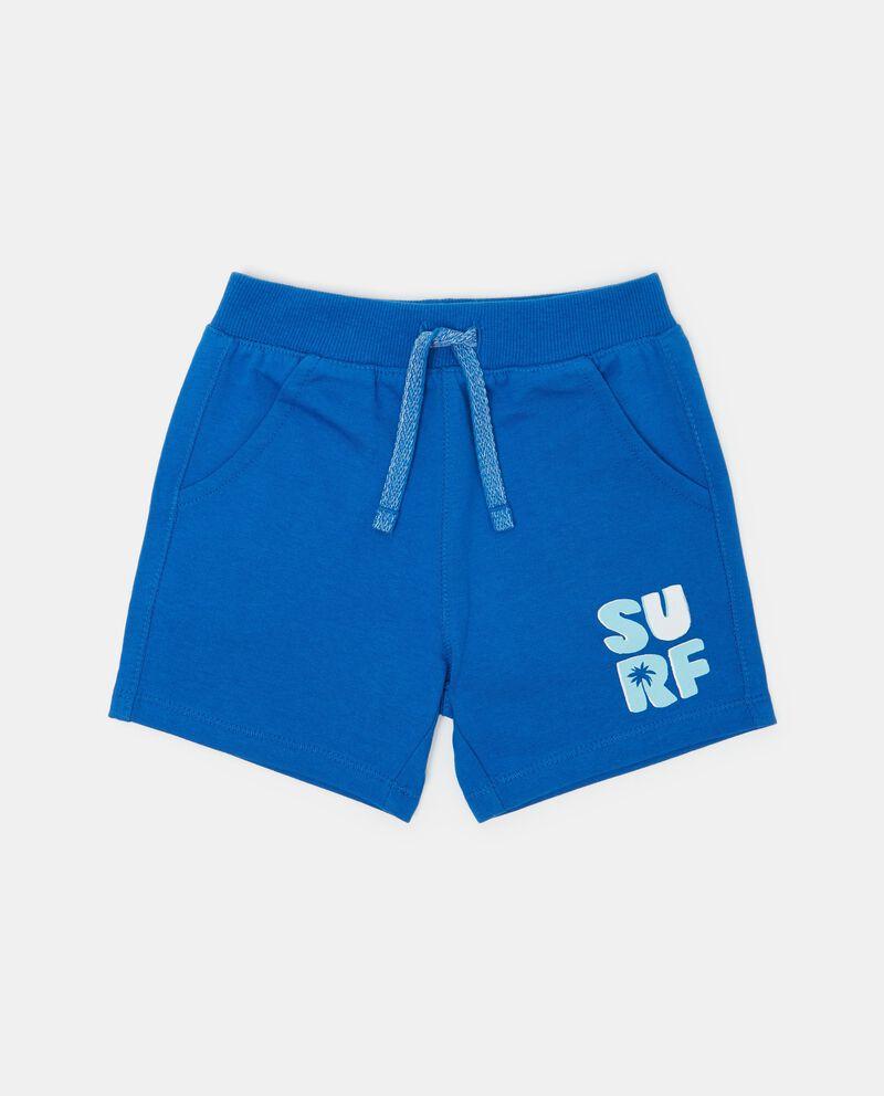 Shorts in puro cotone con tasche neonato