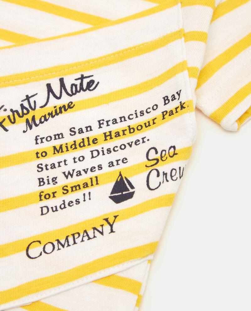 T-shirt in puro cotone a righe