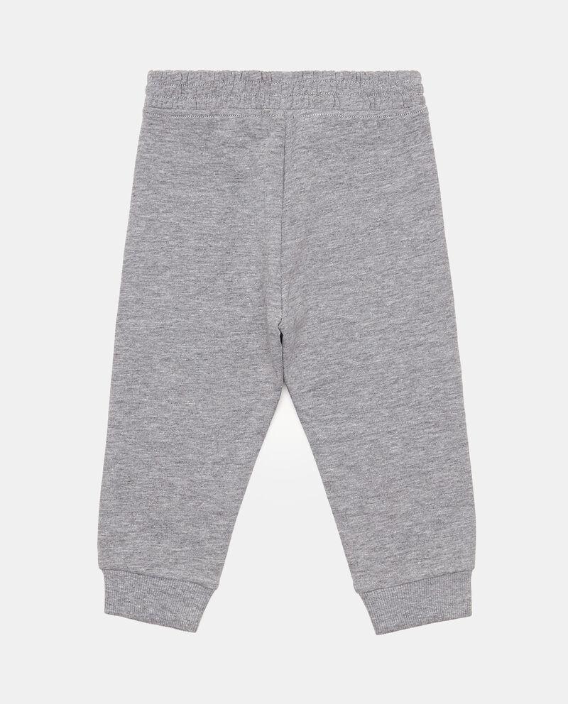 Pantaloni cotone e viscosa mélange