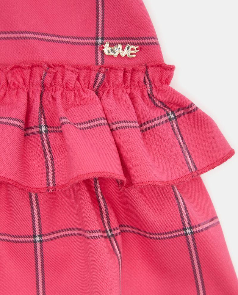 Vestitino a quadri neonata