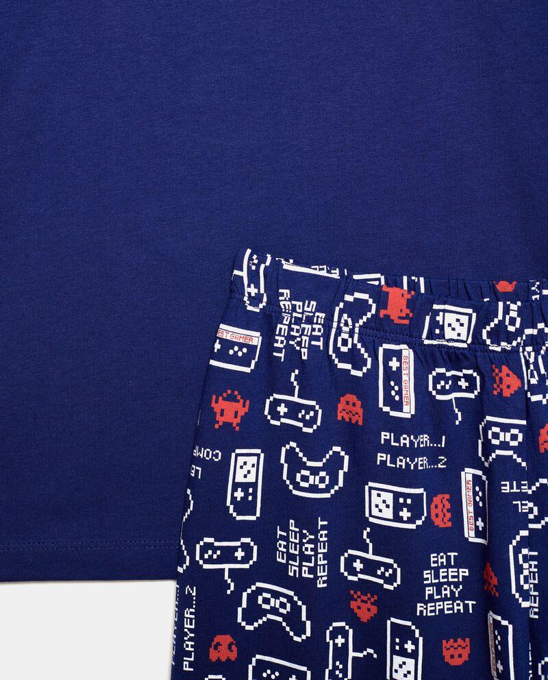 Set pigiama in puro cotone con stampe