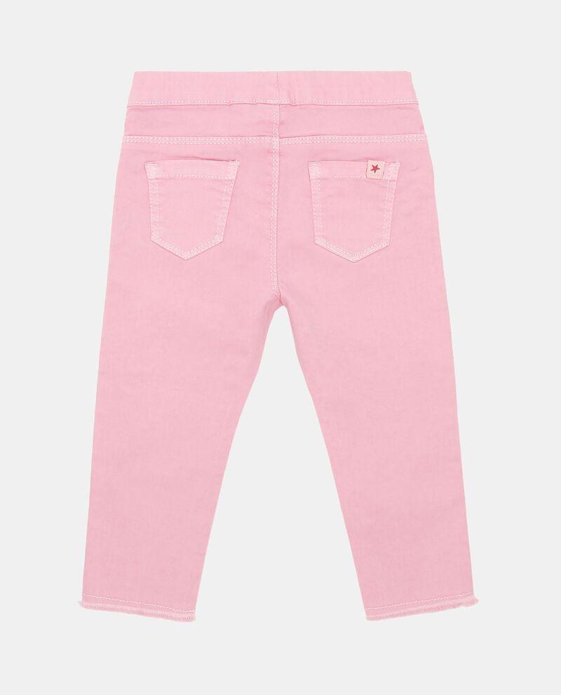 Jeans cinque tasche cotone stretch