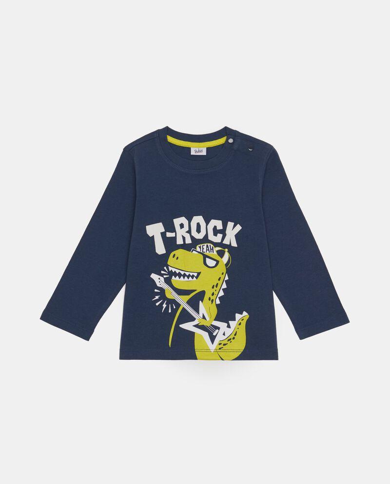 T-shirt maniche lunghe T-rex