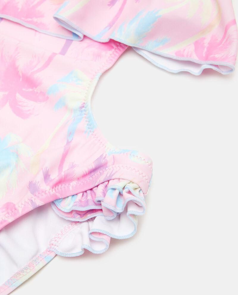 Costume intero trikini stampato ragazza single tile 1